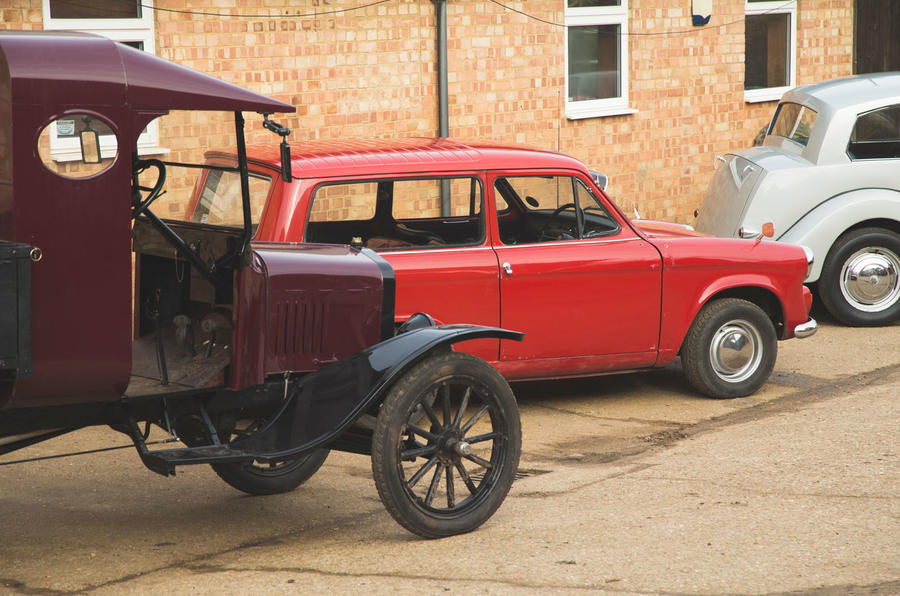 Ford Model T Truck and Hillman Huskey