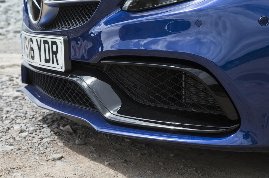 Mercedes-AMG C 63 S front air intake