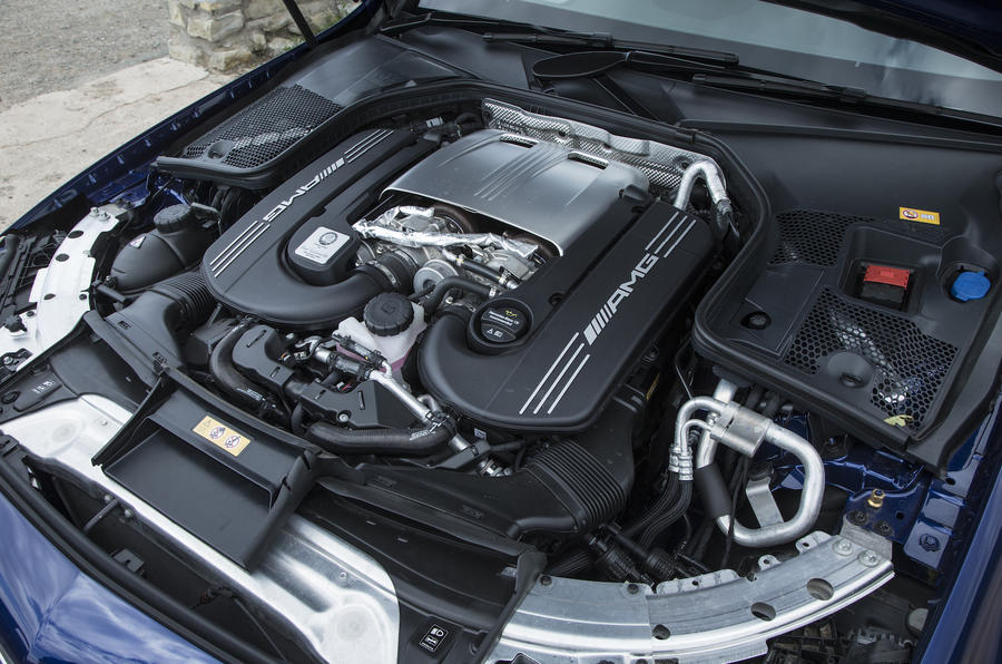 4.0-litre V8 Mercedes-AMG C 63 S engine