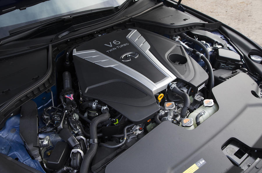 2016 Infiniti Q50 Engine Bay