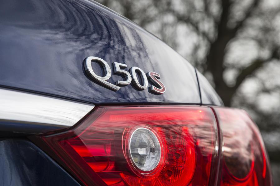 2016 Infiniti Q50 S Badge