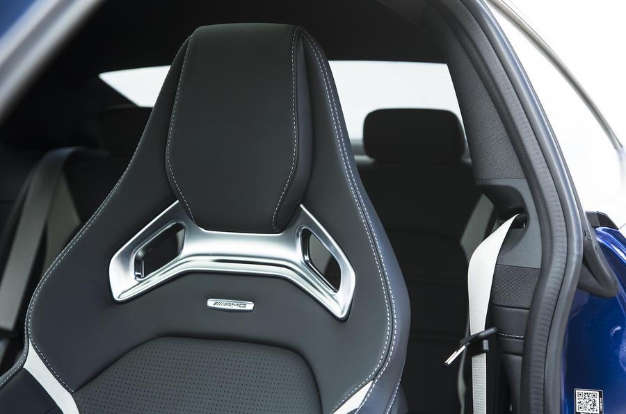 Mercedes-AMG C 63 S Coupé seats