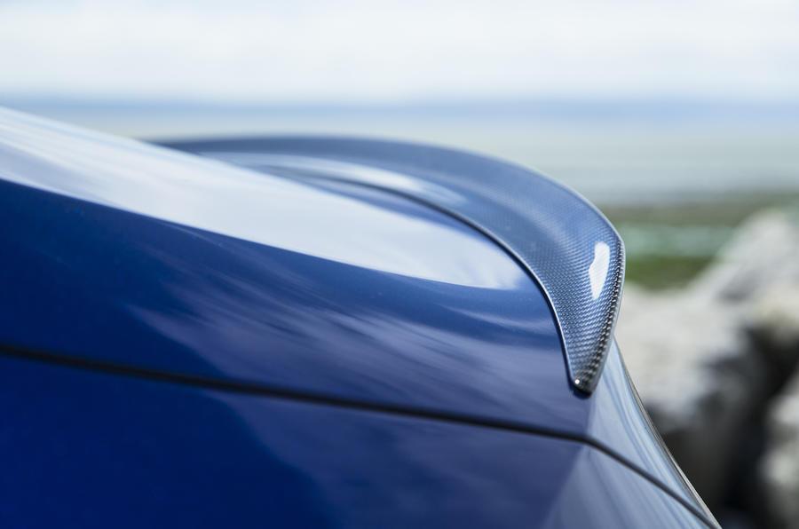 Mercedes-AMG C 63 S Coupé rear spoiler