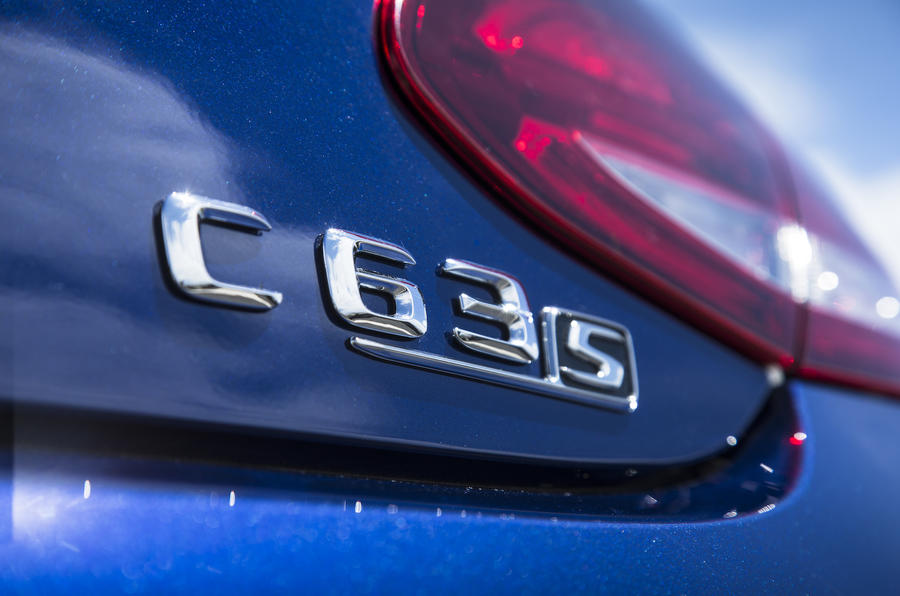 Mercedes-AMG C 63 S Coupé badging