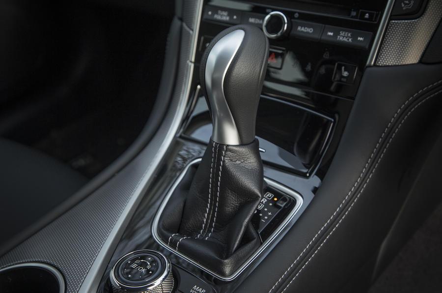 2016 Infiniti Q50 Gear Selector