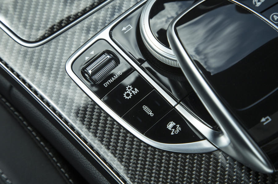Mercedes-AMG C 63 S Coupé drive modes