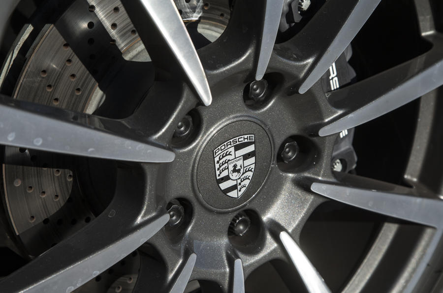 Porsche badging