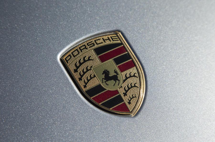 Porsche enamel badges