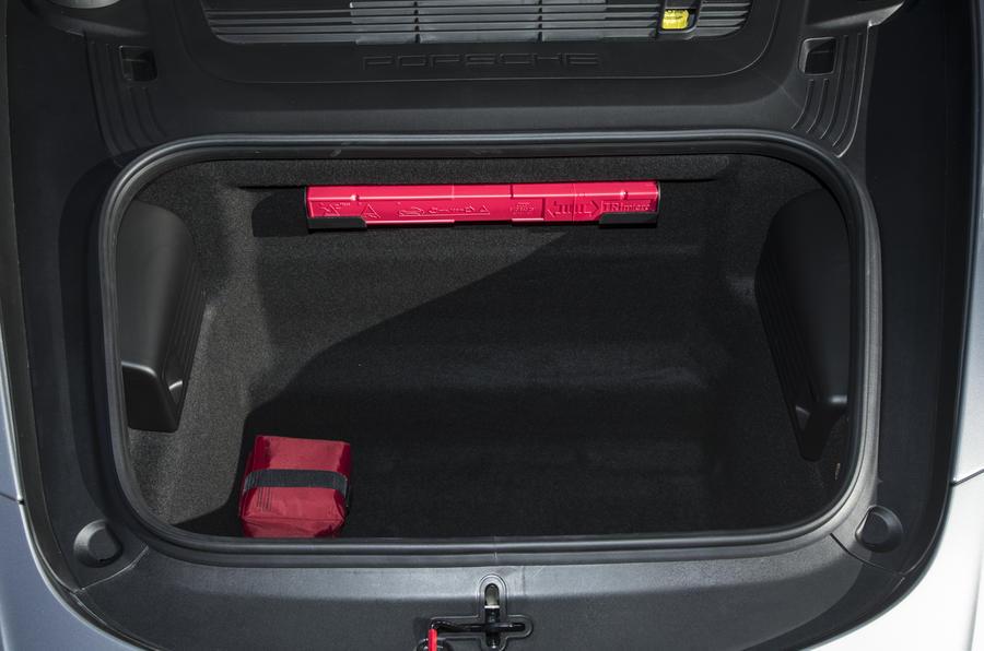 Porsche boot space