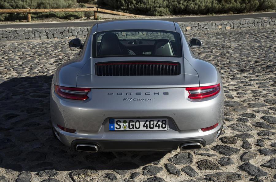 Porsche 911 Carrera rear end