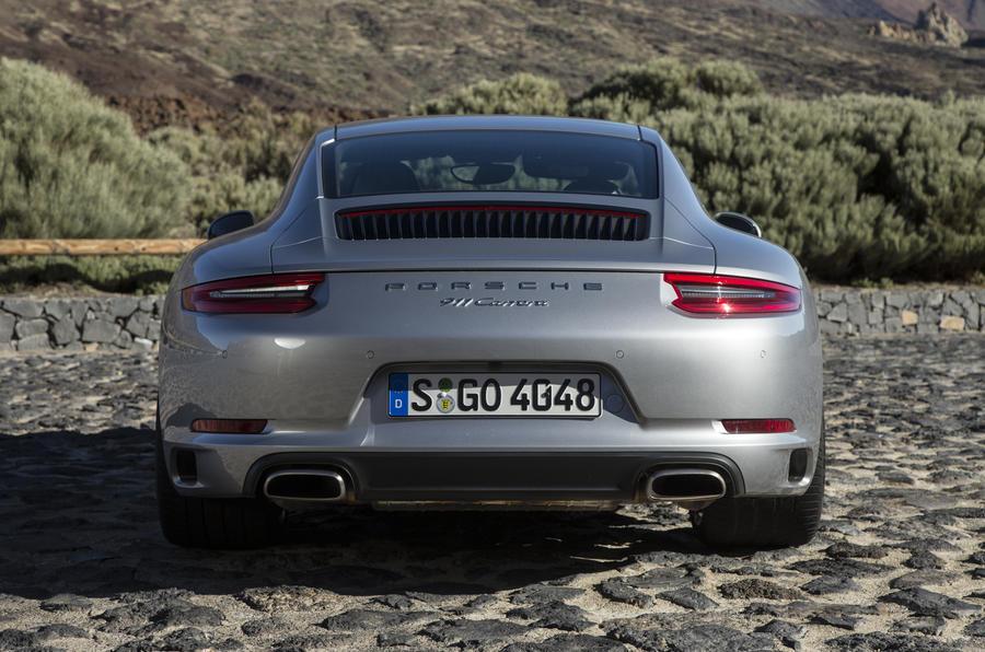 Porsche 911 Carrera rear