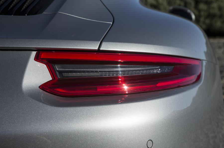 Porsche 911 rear lights