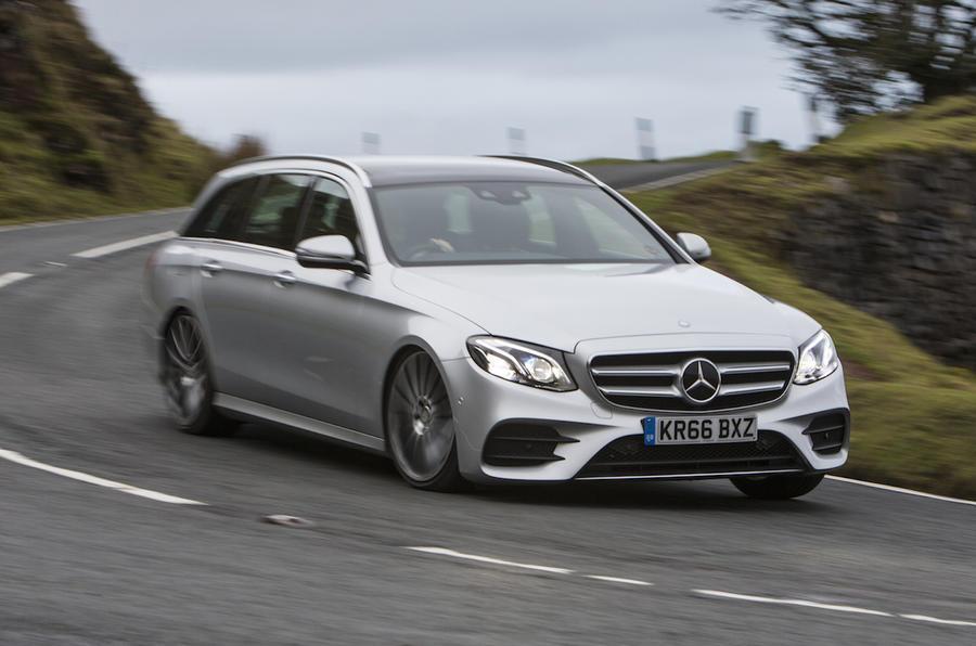 Mercedes E Diesel Hybrid Review