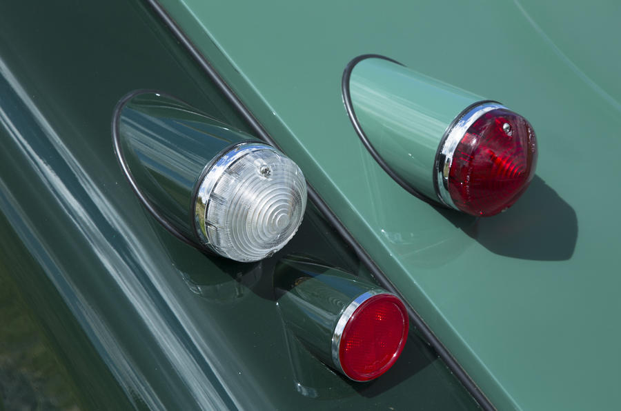 Morgan 80th Anniversary 4/4 rear lights