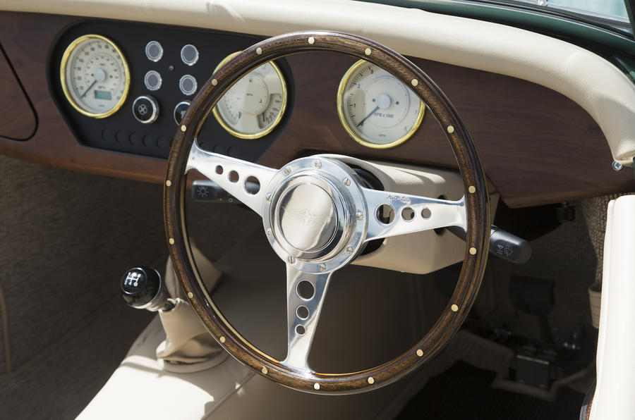 Morgan 80th Anniversary 4/4 dashboard