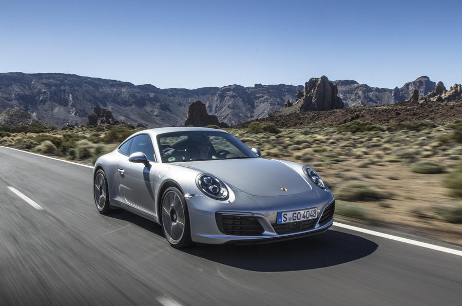 369bhp Porsche 911 Carrera