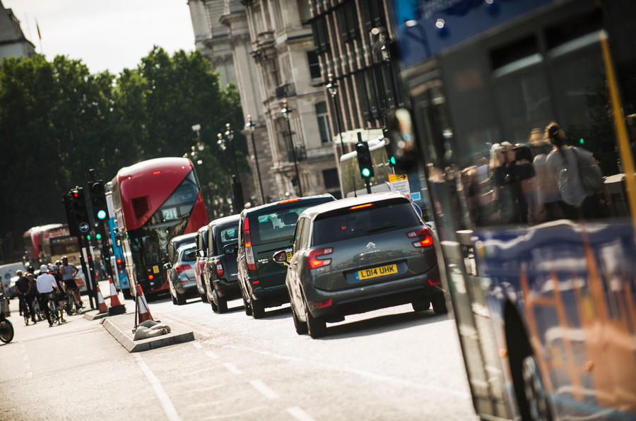 London ULEZ - London bus