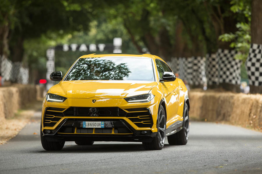 Lamborghini Urus At Goodwood 641bhp Suv Shown In Action Autocar