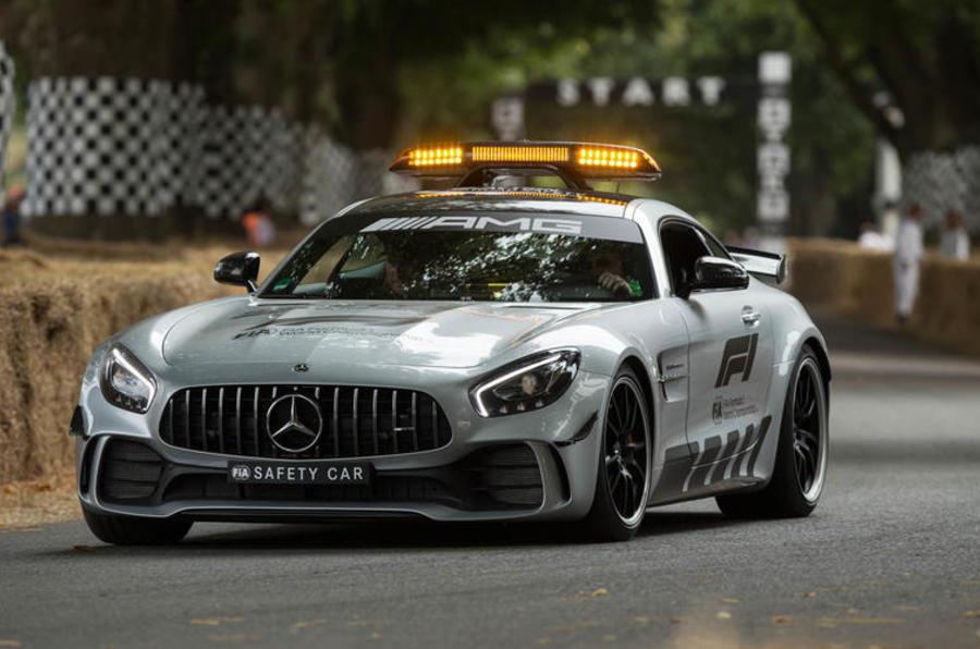 Mercedes-AMG F1 safety car- Goodwood
