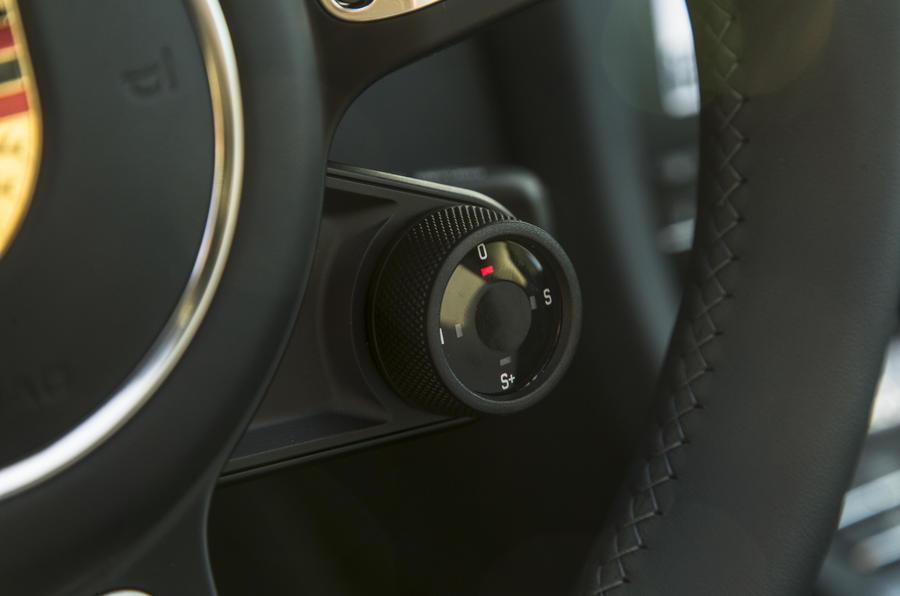 Porsche 911 dynamic control