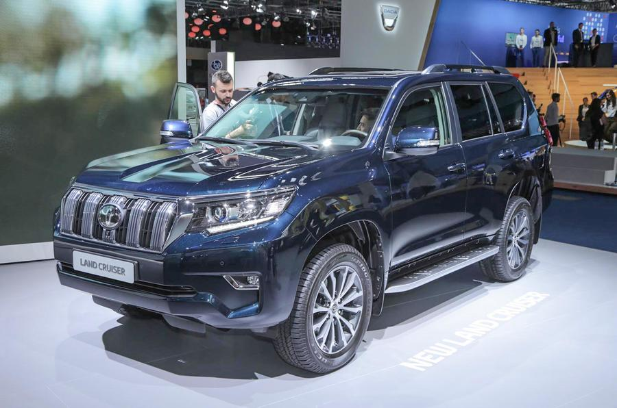 2018 Toyota Land Cruiser on sale from £32,795