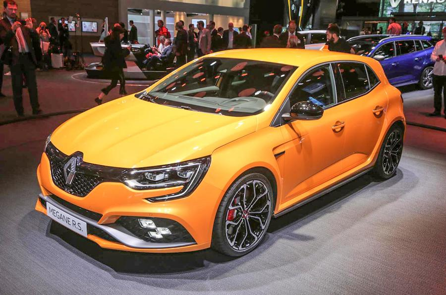 276bhp Renault Megane RS hot hatch on sale from £27,495