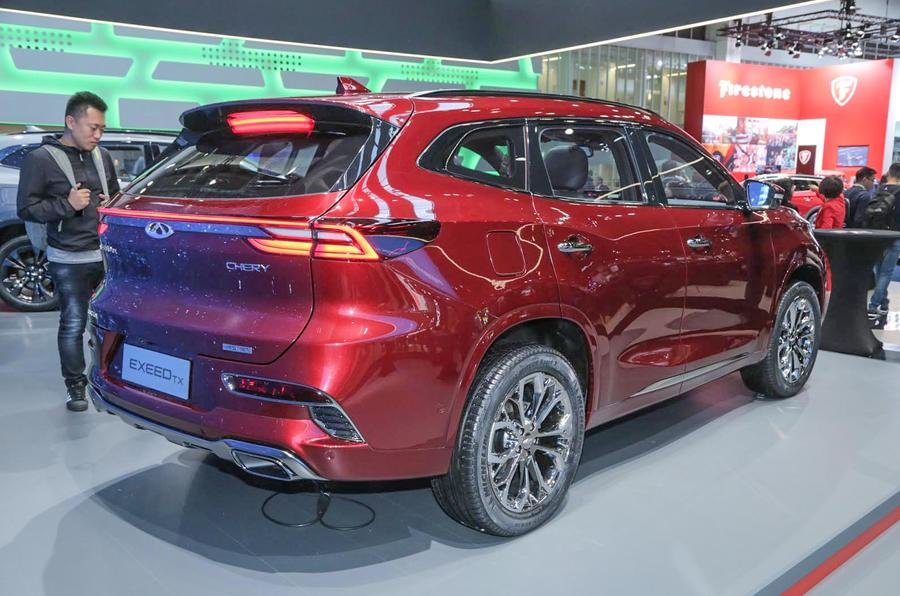 Chery Exeed Tx Confirmed As First Europe Bound Chinese Suv