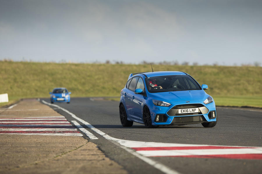 Does Drift Mode make the Ford Focus RS more agile on track?