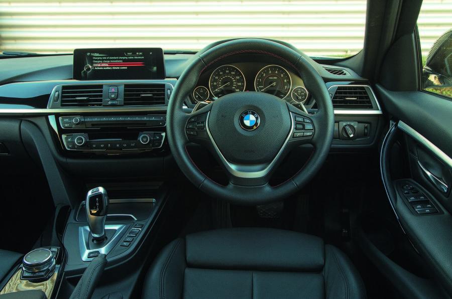 BMW 330e Sport interior