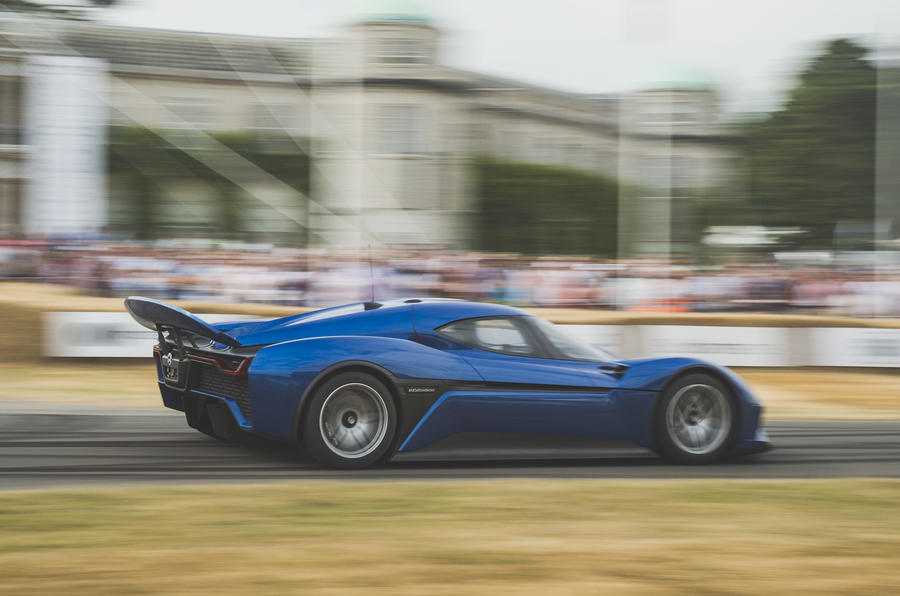 Nio EP9 Goodwood Festival of Speed hill climb