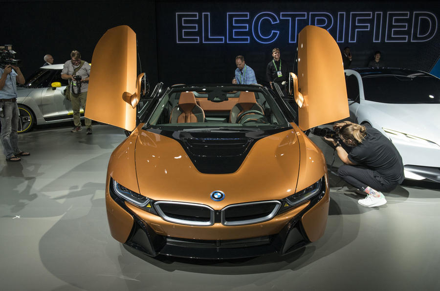 Bmw I8 Roadster Priced From 124 735 Autocar