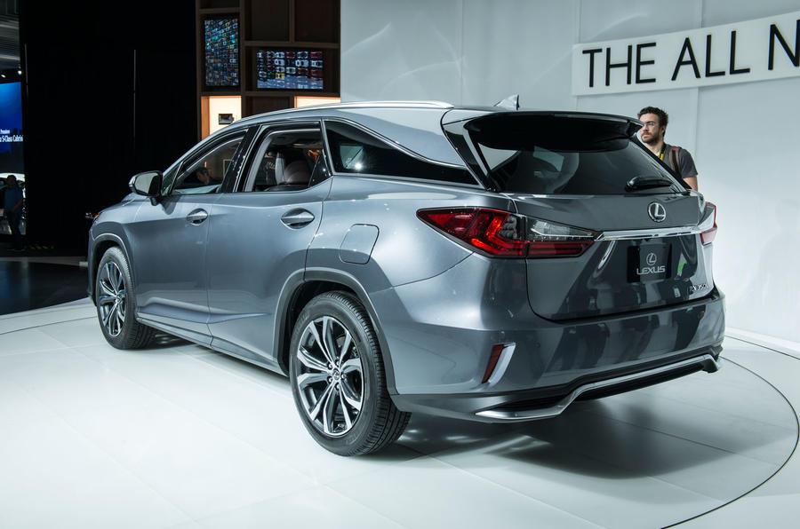 Lexus 7 Seater Suv >> Lexus Rx L New Seven Seat Suv Prices Unveiled Autocar