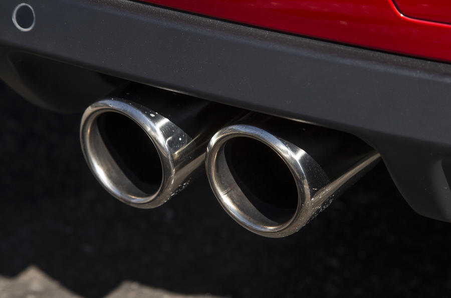 DS 3 Performance twin exhaust