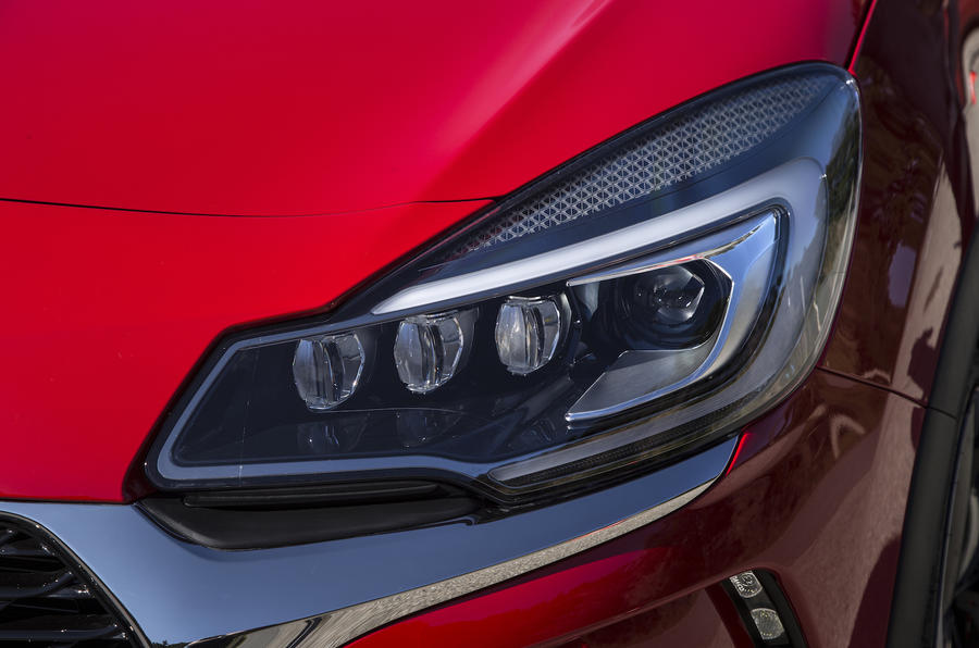 DS 3 LED headlights