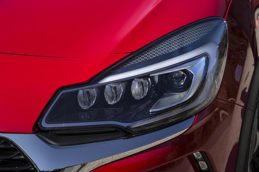 DS 3 LED headlights