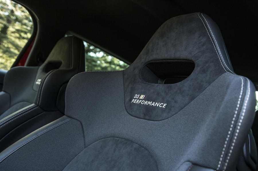 DS 3 Performance stitched seats