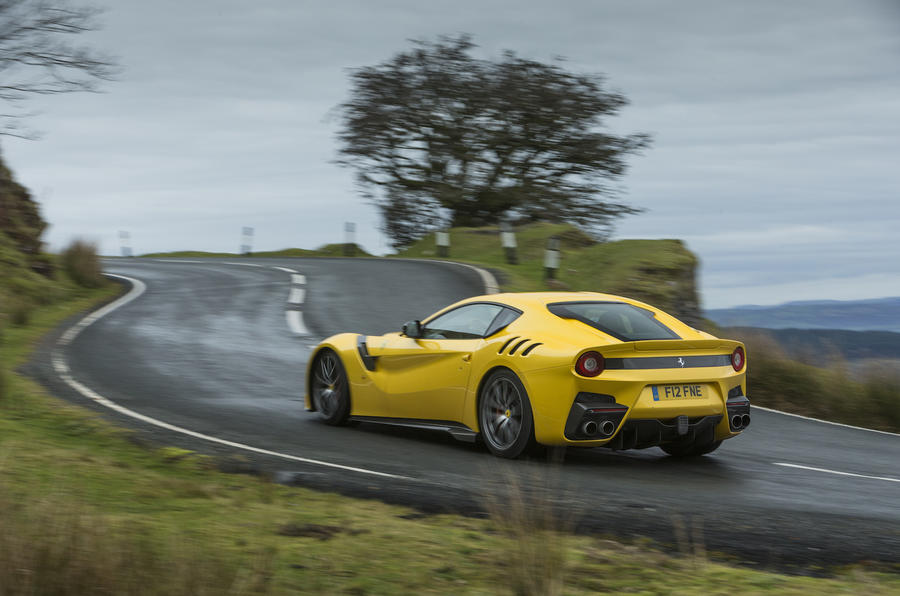 2016 Ferrari F12tdf Review Review Autocar