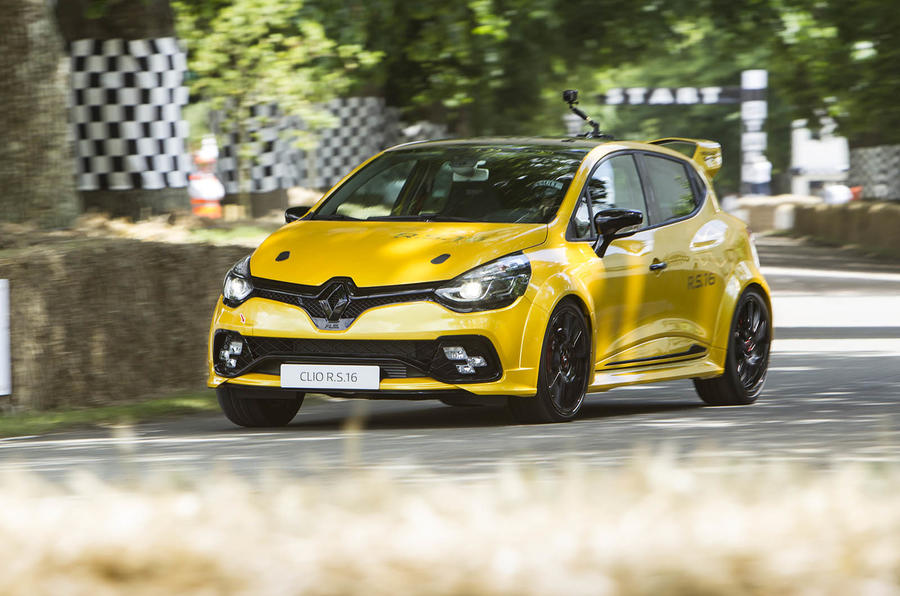 Renault Clio RS16 concept won't make production
