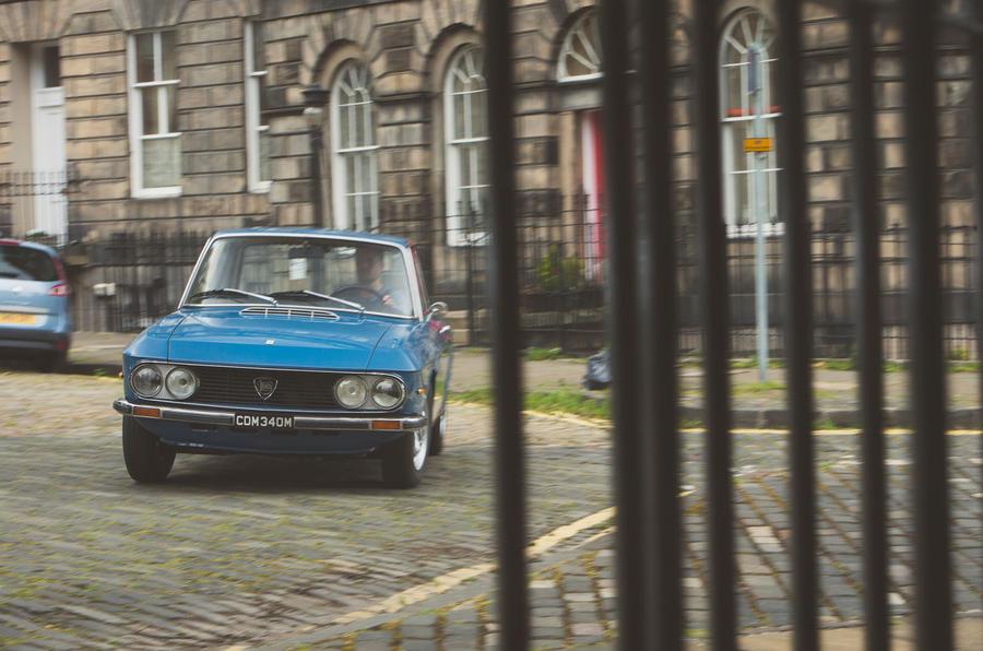 1974 Lancia Fulvia 3 1.3S fence