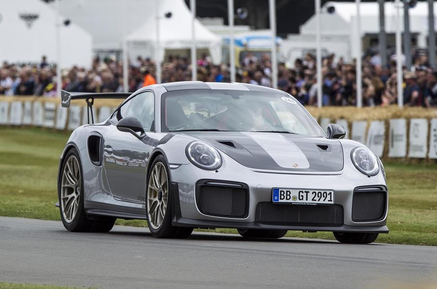 Porsche 911 GT2 RS breaks cover at Goodwood