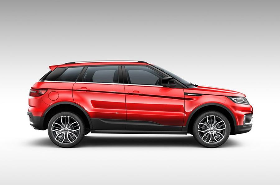 range rover evoque copycat landwind x7 updated with new look autocar. Black Bedroom Furniture Sets. Home Design Ideas