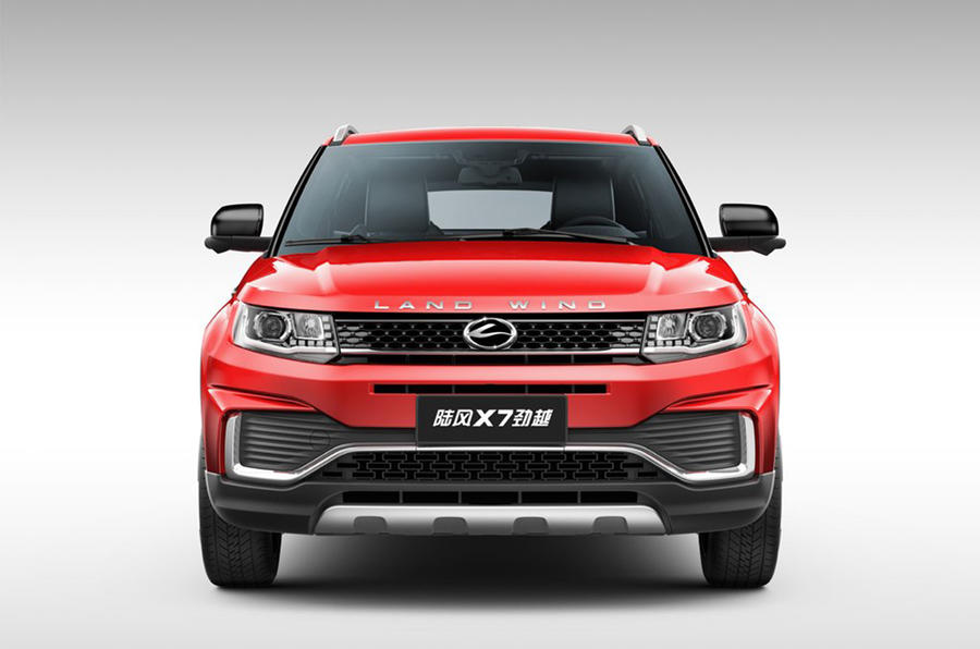 Chinese copycat Range Rover Evoque distances from inspiration with facelift
