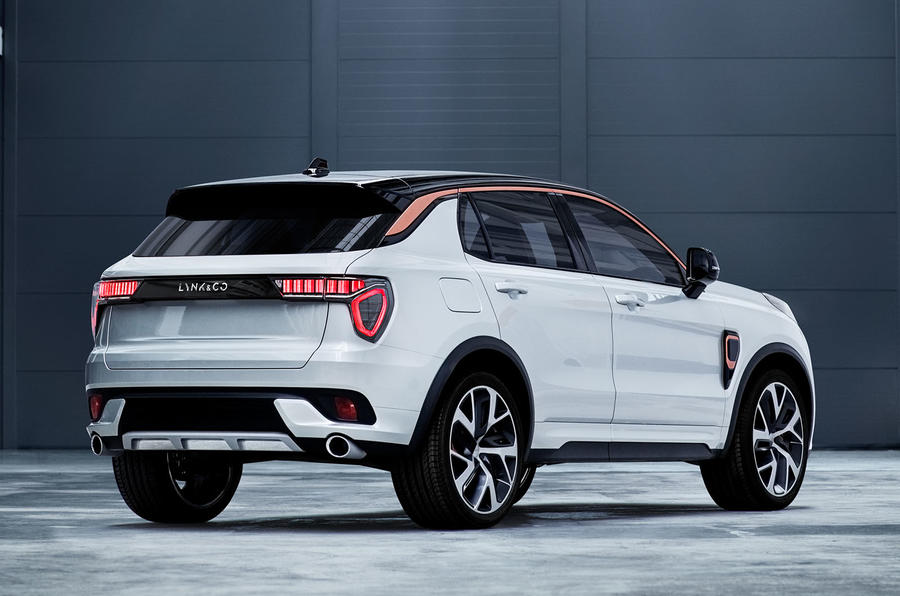 Lynk & Co 01 rear