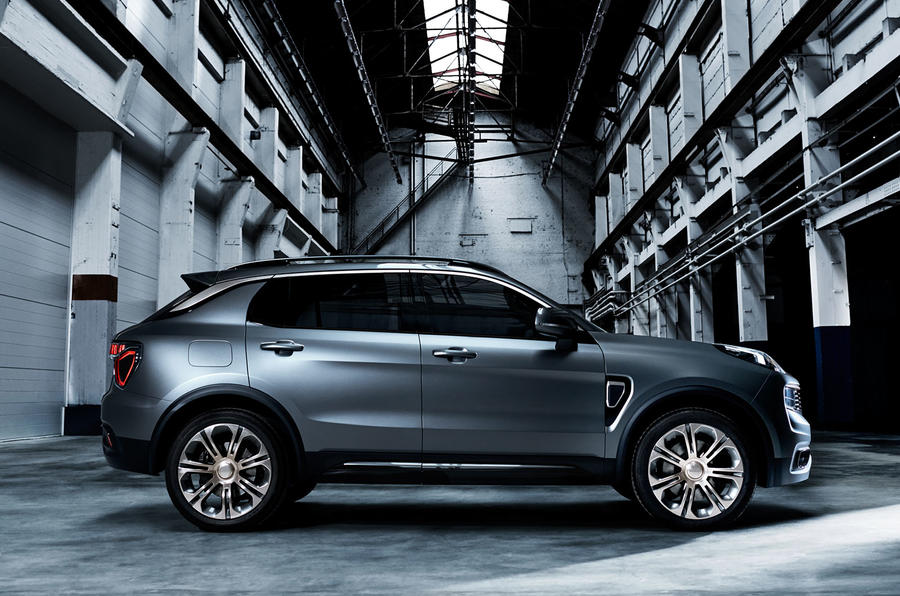 2017 Lynk Amp Co 01 Suv Launched At Shanghai Show Autocar