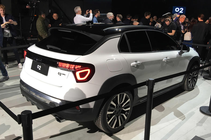 Lynk & Co 02 unveiled as a European crossover