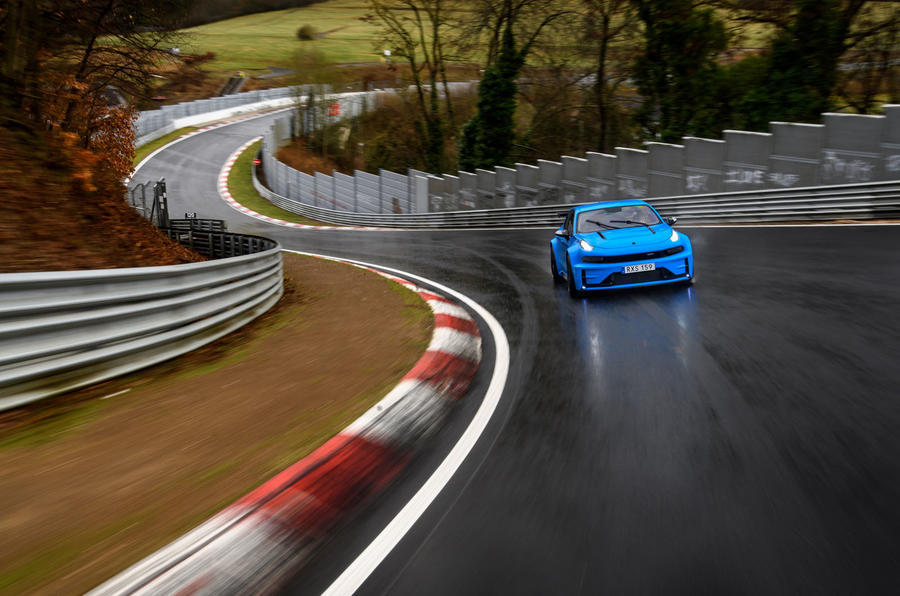Lynk&Co 03 Cyan Concept is fastest four-door at Nurburgring