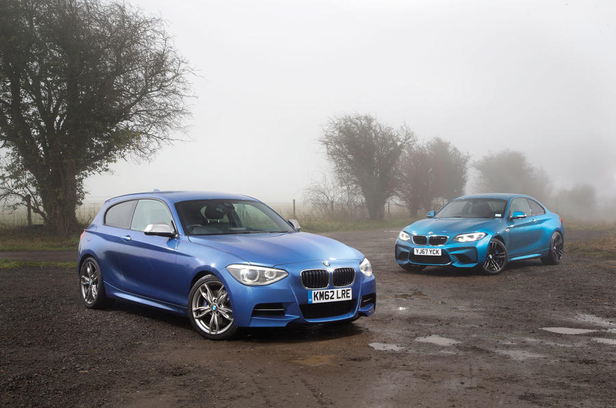 bmw m2 vs used m135i is our modified hot hatch as fun to drive