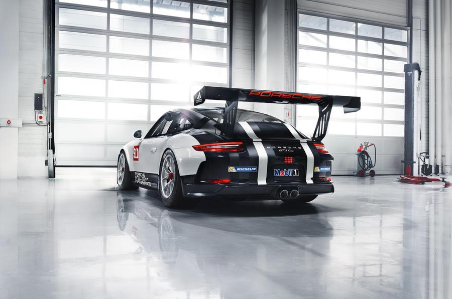 2017 Porsche 911 GT3 Cup racer launched in Paris