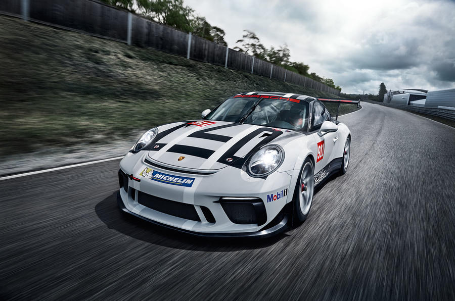 2017 porsche 911 gt3 cup racer launched in paris autocar. Black Bedroom Furniture Sets. Home Design Ideas