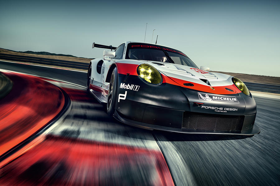 Porsche unveils the mid-engine 911 RSR